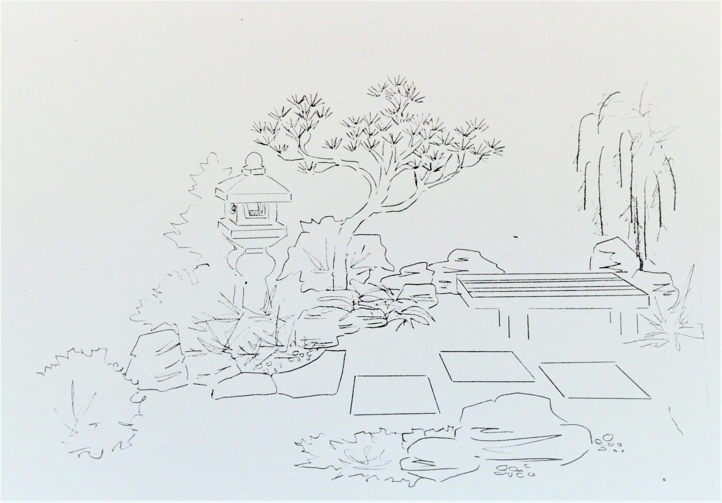 Plani-Décor-Aménagement paysager-Croquis 4